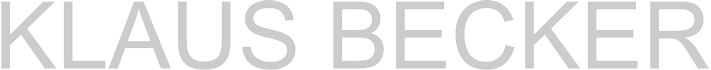 Klaus Becker Logo
