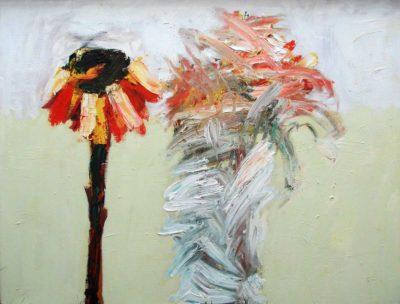 Klaus Becker - Oil on Canvas - Vergänglichkeit - 100x132 cm