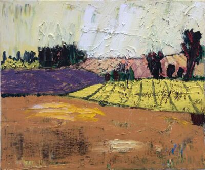 Klaus Becker-Öl auf Leinen-Landschaft2-50x60 cm