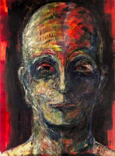 Klaus Becker-Oil on canvas-Homo-sapiens-sapiens-200 x 145