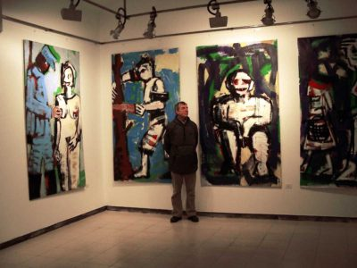 Klaus Becker - Art Gallerie - Barcelona - Spain - 2003