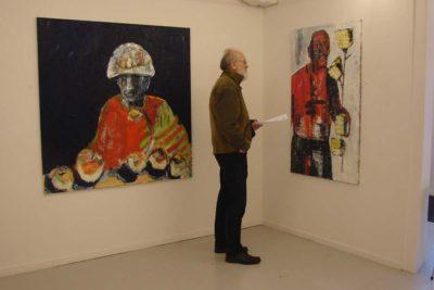 Klaus Becker - Det Hemmelige Gallerie - Herning- 2012
