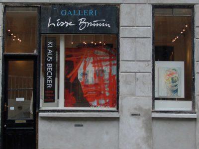 Klaus Becker - Galleri Lisse Bruun - Stor Kongensgade - Copenhagen - Denmark
