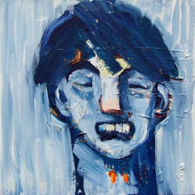 Klaus Becker - Oil on Canvas - Blueboy 60x60cm