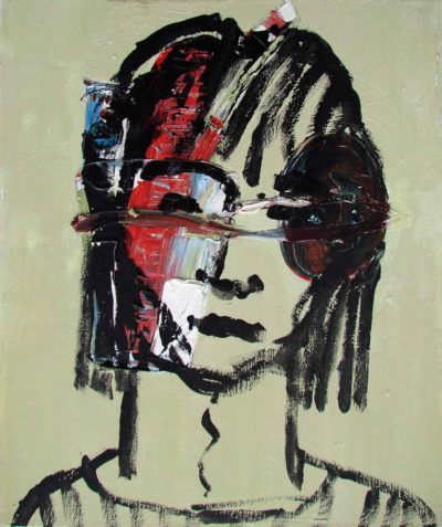Klaus Becker - Oil on Canvas - Girl - 70x50 cm