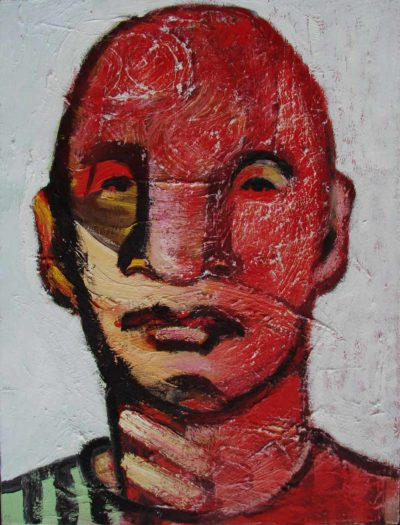 Klaus Becker - Oil on Canvas - Kosak - 80x60cm