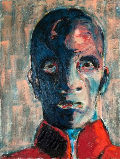 Klaus Becker - Oil on Canvas - Marcus Antonius - 80x60 cm