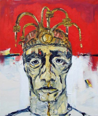 Klaus Becker - Oil on Canvas - The last king - 100x80cm