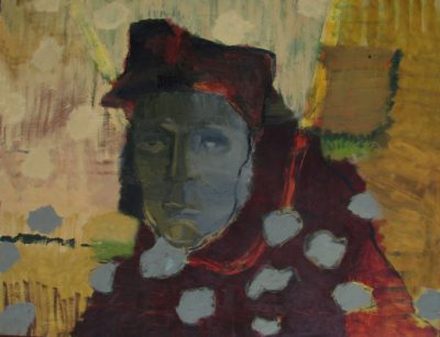 Klaus_Becker - Oil on Masonit - Man from Siberia - 95x120cm