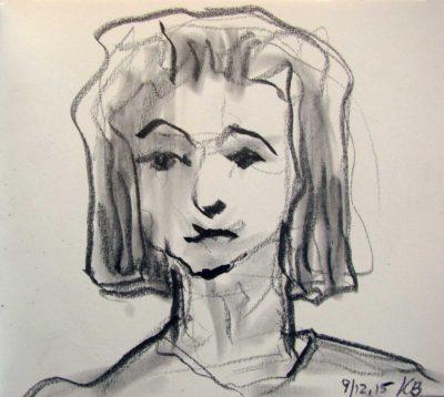 Klaus Becker - Sketchbook - France - 9
