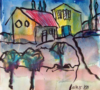 Klaus Becker - Sketchbook - France - 11