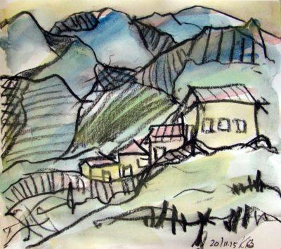 Klaus Becker - Sketchbook - France - 12