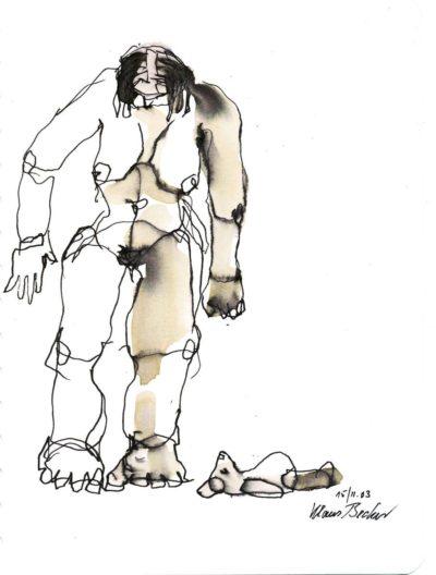 Klaus Becker - Sketchbook - France - 13