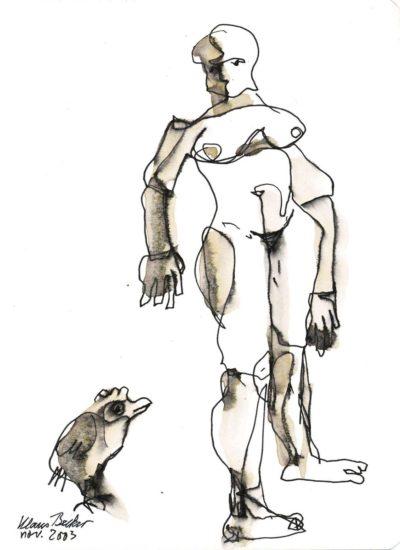 Klaus Becker - Sketchbook - France - 14
