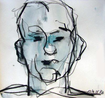 Klaus Becker - Sketchbook - France - 15