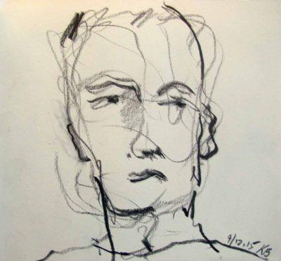 Klaus Becker - Sketchbook - France - 1