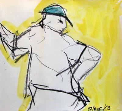 Klaus Becker - Sketchbook - France - 2