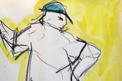 Klaus Becker - Sketchbook - France - 2
