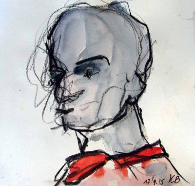 Klaus Becker - Sketchbook - France - 4
