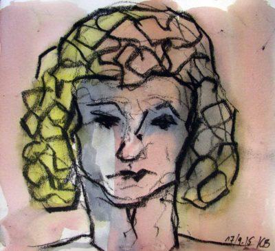 Klaus Becker - Sketchbook - France - 5