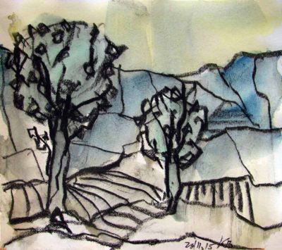 Klaus Becker - Sketchbook - France - 7