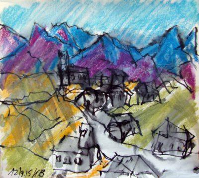Klaus Becker - Sketchbook - France - 8