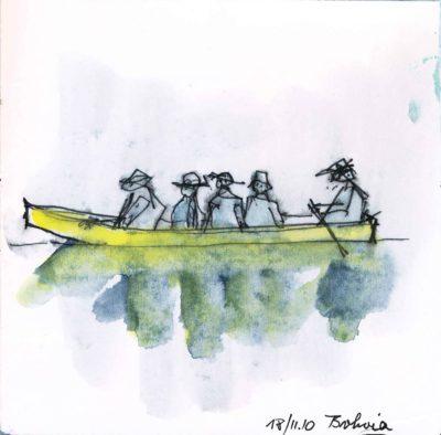 Klaus Becker - Sketchbook Bolivia - 01