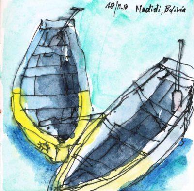 Klaus Becker - Sketchbook Bolivia - 11