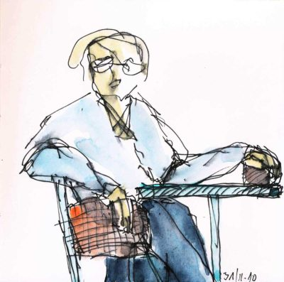 Klaus Becker - Sketchbook Bolivia - 17