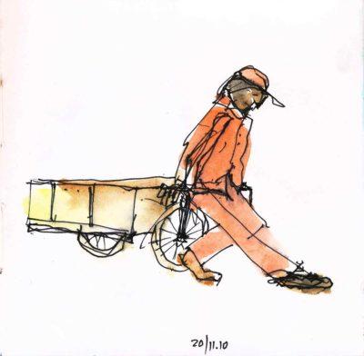 Klaus Becker - Sketchbook Bolivia - 19
