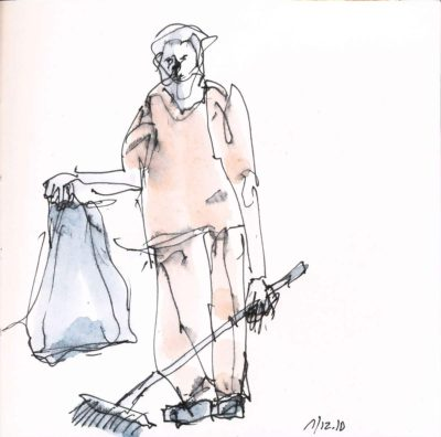 Klaus Becker - Sketchbook Bolivia - 07