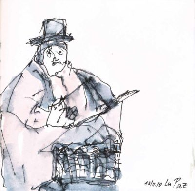 Klaus Becker - Sketchbook Bolivia - 08