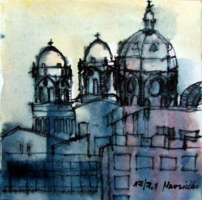 Klaus Becker - Sketchbook - Marseille - 1