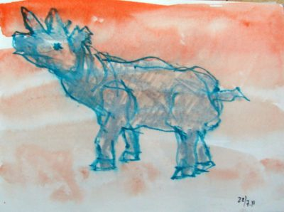 Klaus Becker - Sketchbook - Marseille - 11