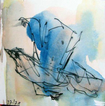 Klaus Becker - Sketchbook - Marseille - 17