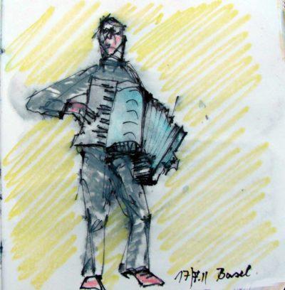 Klaus Becker - Sketchbook - Marseille - 19
