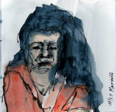 Klaus Becker - Sketchbook - Marseille - 20