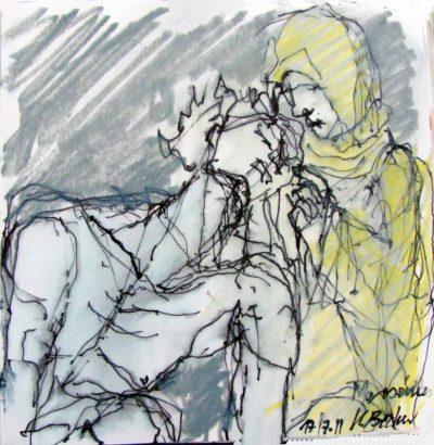 Klaus Becker - Sketchbook - Marseille - 22
