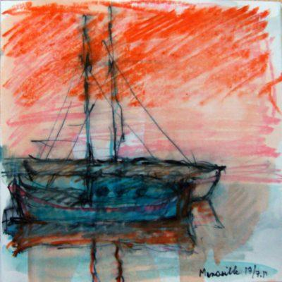 Klaus Becker - Sketchbook - Marseille - 23