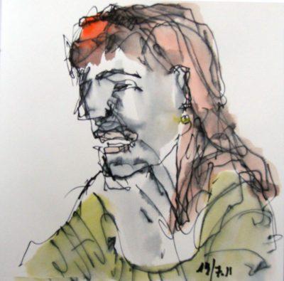 Klaus Becker - Sketchbook - Marseille - 3
