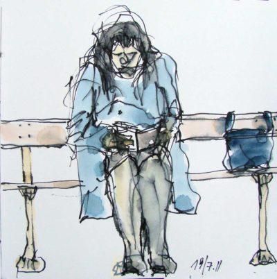 Klaus Becker - Sketchbook - Marseille - 6
