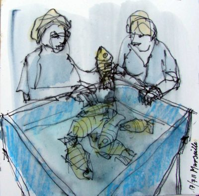 Klaus Becker - Sketchbook - Marseille - 7