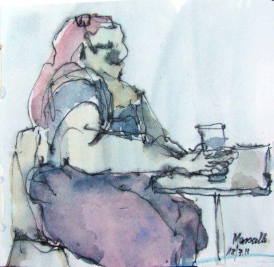 Klaus Becker - Sketchbook - Marseille - 1