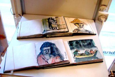 Klaus Becker - Sketchbook Bolivia