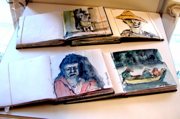 Klaus Becker - Sketchbook Bolivia