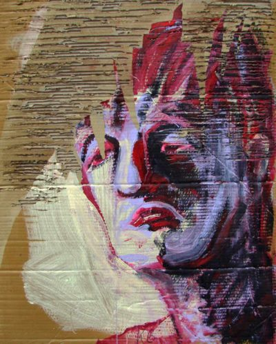 Klaus Becker - Sketch on Carton - Odysseus - 100x80