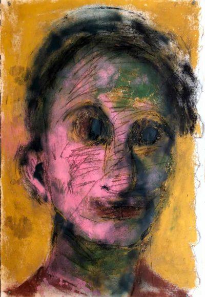 Klaus Becker 1 - Sketch on paper - 113x75 cm