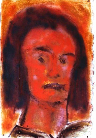 Klaus Becker - Sketch on paper 2 - 113x75 cm