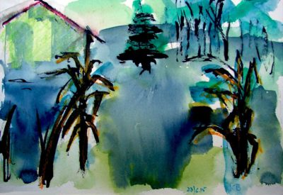 Klaus Becker - Watercolour - Provence - 11