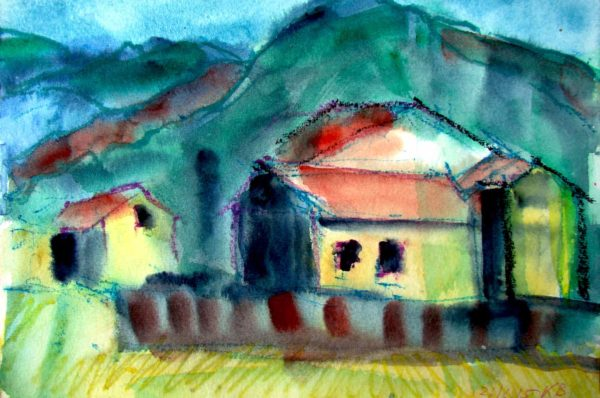 Klaus Becker - Watercolour - Provence - 13